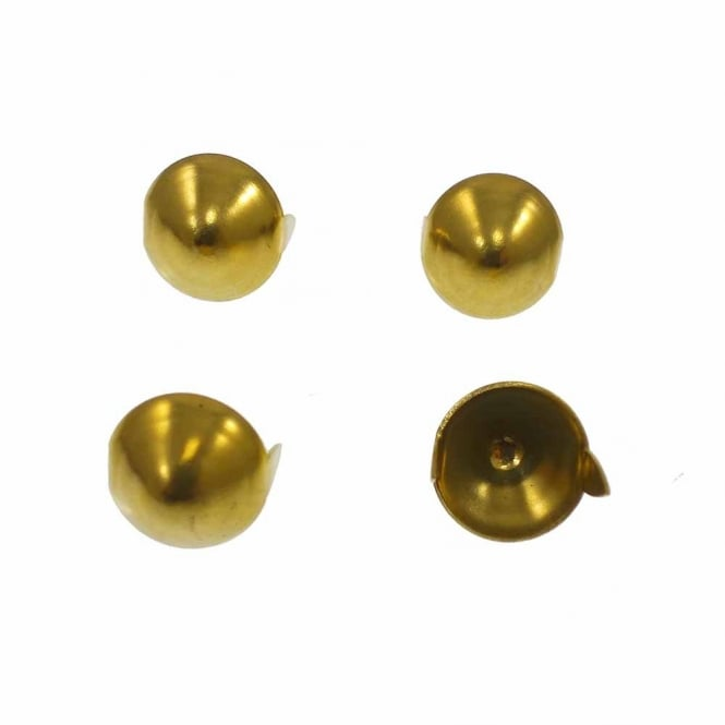5x11mm Metal Conical Studs - Gold - 10pk