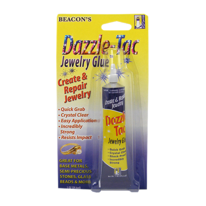 Beacon Dazzle-Tac Jewellery Glue - 1oz /29ml