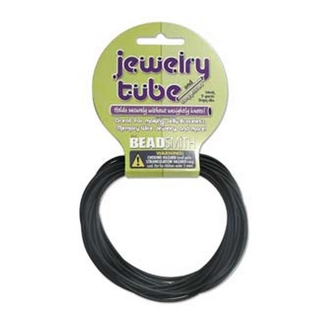 Jewellery Tube 2mm - Black - 4.5m (5yds)