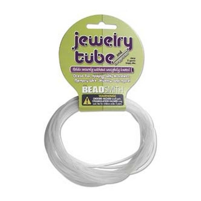 Jewellery Tube 2mm - Clear - 4.5m (5yds)