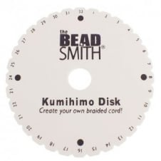 "Beadsmith Kumihimo 6"" Round Braiding Disc - Plus Instructions"