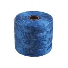 Beadsmith Superlon Bead Cord Tex210 (Extra Heavy #18) - Blue - 70m