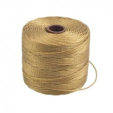Beadsmith Superlon Bead Cord Tex210 (Extra Heavy #18) - Bronze - 70m