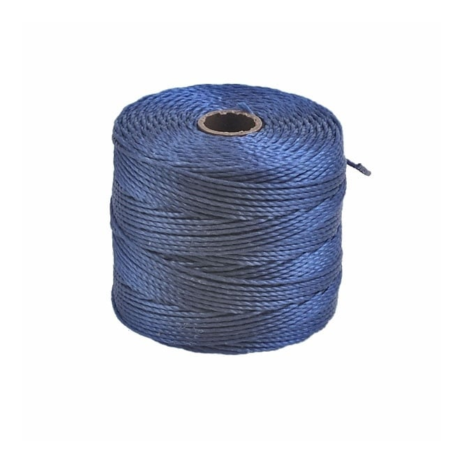 Superlon Bead Cord Tex210 (Extra Heavy #18) - Capri Blue - 70m