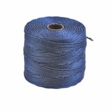 Beadsmith Superlon Bead Cord Tex210 (Extra Heavy #18) - Capri Blue - 70m