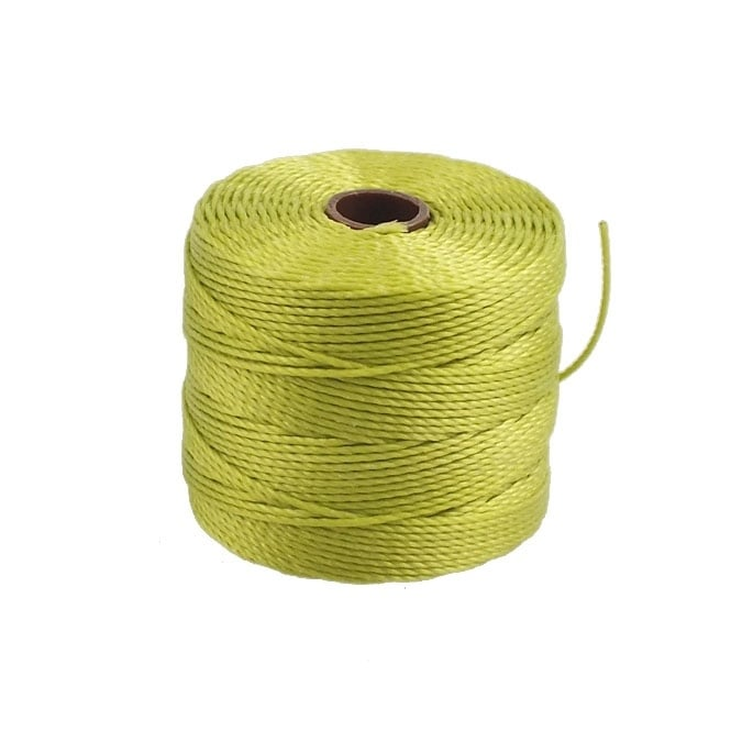 Superlon Bead Cord Tex210 (Extra Heavy #18) - Chartreuse - 70m