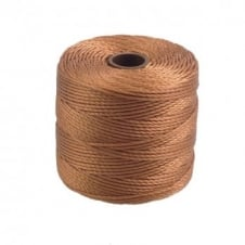 Beadsmith Superlon Bead Cord Tex210 (Extra Heavy #18) - Copper - 70m