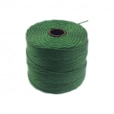 Beadsmith Superlon Bead Cord Tex210 (Extra Heavy #18) - Green - 70m