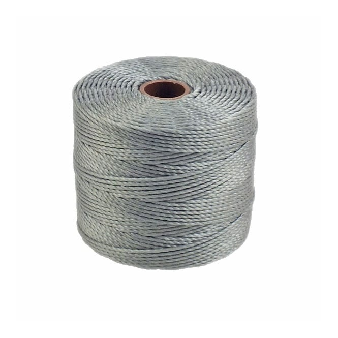 Superlon Bead Cord Tex210 (Extra Heavy #18) - Grey - 70m