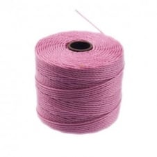 Beadsmith Superlon Bead Cord Tex210 (Extra Heavy #18) - Light Orchid - 70m