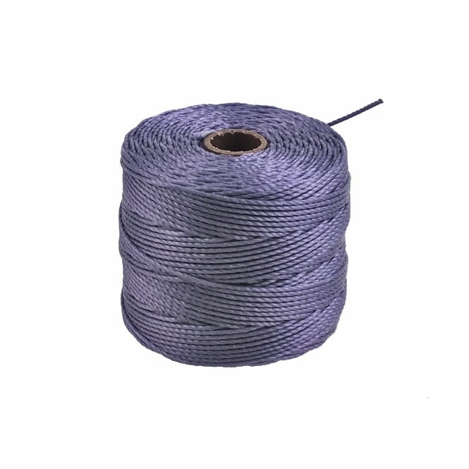 Superlon Bead Cord Tex210 (Extra Heavy #18) - Medium Purple - 70m
