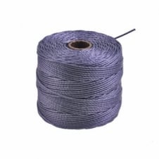 Beadsmith Superlon Bead Cord Tex210 (Extra Heavy #18) - Medium Purple - 70m