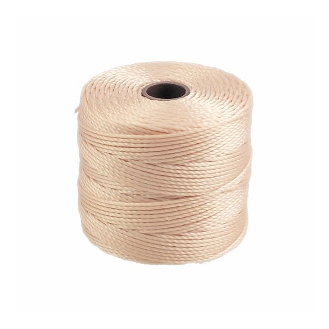 Beadsmith Superlon Bead Cord Tex210 (Extra Heavy #18) - Natural - 70m