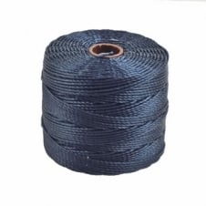 Beadsmith Superlon Bead Cord Tex210 (Extra Heavy #18) - Navy - 70m