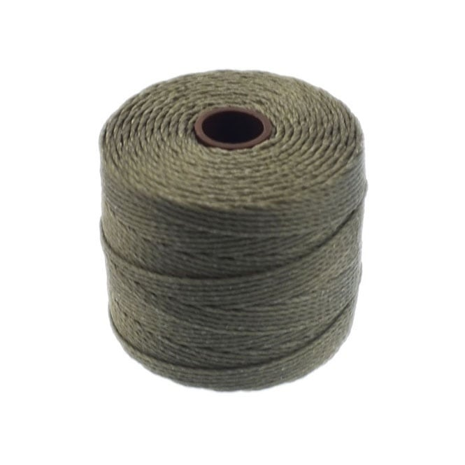 Superlon Bead Cord Tex210 (Extra Heavy #18) - Olive - 70m