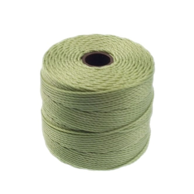 Superlon Bead Cord Tex210 (Extra Heavy #18) - Peridot - 70m