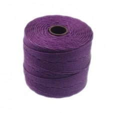 Beadsmith Superlon Bead Cord Tex210 (Extra Heavy #18) - Plum - 70m