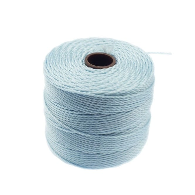 Superlon Bead Cord Tex210 (Extra Heavy #18) - Sky Blue - 70m