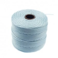 Beadsmith Superlon Bead Cord Tex210 (Extra Heavy #18) - Sky Blue - 70m