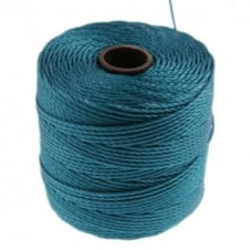 Beadsmith Superlon Bead Cord Tex210 (Extra Heavy #18) - Teal - 70m