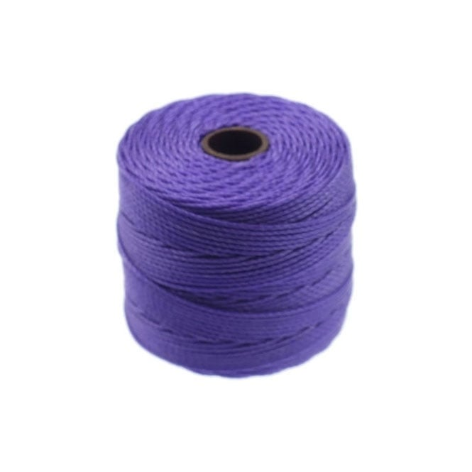 Superlon Bead Cord Tex210 (Extra Heavy #18) - Violet - 70m
