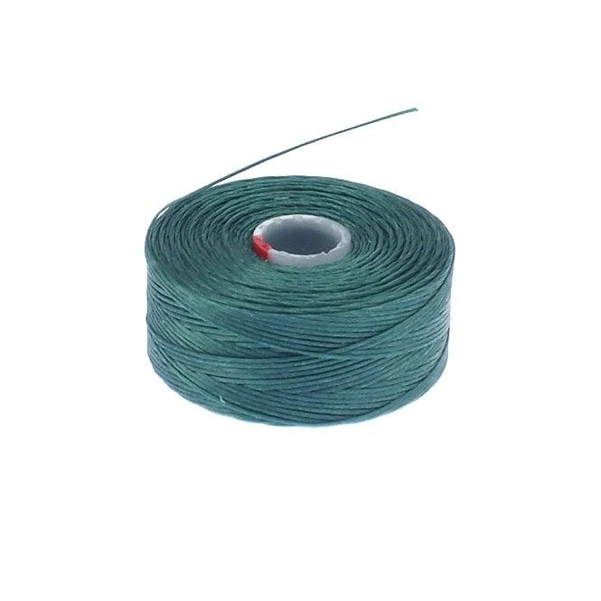 Beadsmith Superlon (S-Lon) Tex45 Size D - Sea Foam Green - 70m - The ...