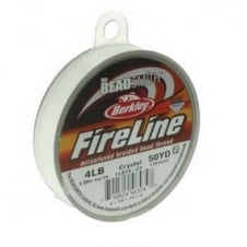 FireLine Beading Thread 4lb - Crystal Clear 0.12mm (.005in) - 45m