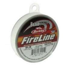 FireLine Beading Thread 8lb - Crystal Clear 0.17mm (.007in) - 45m