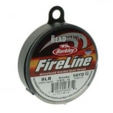 FireLine Beading Thread 8lb - Smoke Grey 0.17mm (.007in) - 45m