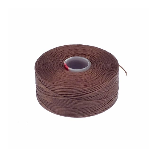 Beadsmith Superlon (S-Lon) Tex45 Size D - Light Copper - 70m