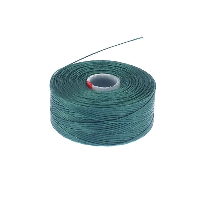 Beadsmith Superlon (S-Lon) Tex45 Size D - Sea Foam Green - 70m