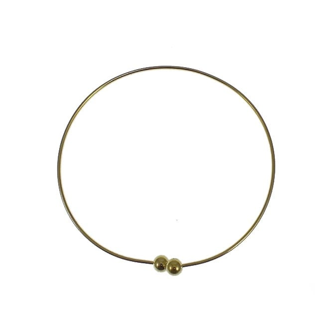 Charm Bangle 2 - Gold Plated - 1pk