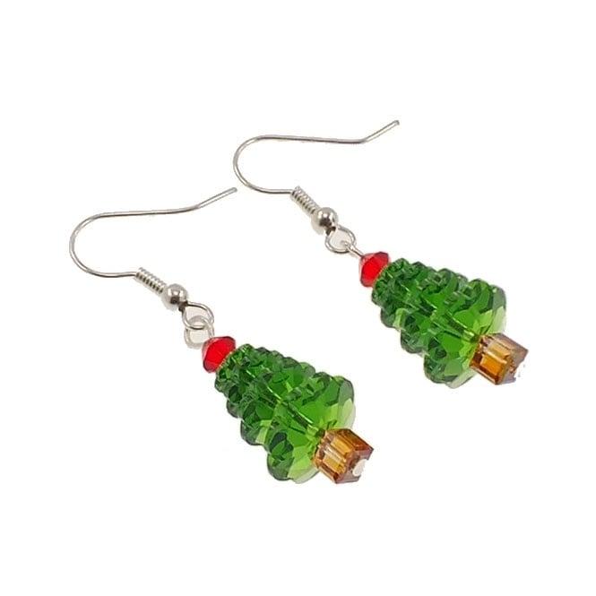 How To Make Christmas Tree Earrings The Bead Shop - Make Christmas Tree Earrings
