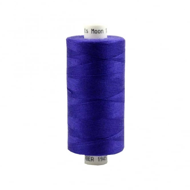 Coats Moon Spun Polyester Sewing Thread 1000 Yards - M025 - Purple