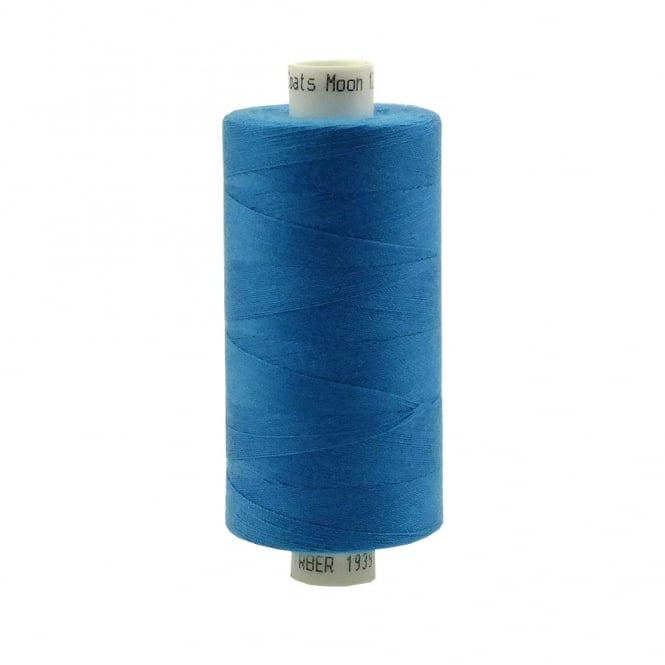 Coats Moon Spun Polyester Sewing Thread 1000 Yards - M029 - Turquoise