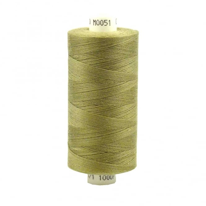Coats Moon Spun Polyester Sewing Thread 1000 Yards - M051 - Light Bronze