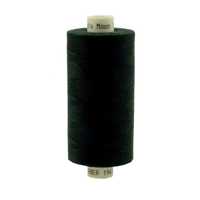Coats Moon Spun Polyester Sewing Thread 1000 Yards - M061 - Hunter Green