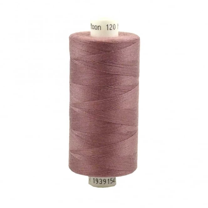 Coats Moon Spun Polyester Sewing Thread 1000 Yards - M075 - Light Plum