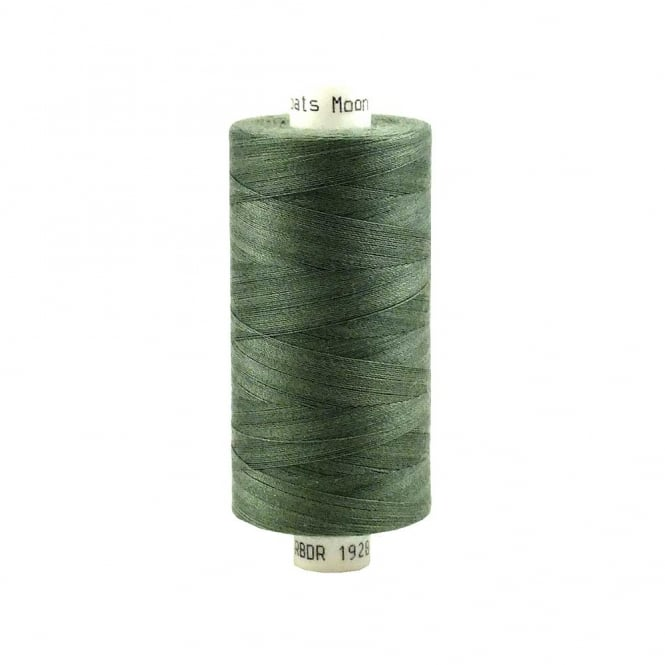 Coats Moon Spun Polyester Sewing Thread 1000 Yards - M110 - Grey Green