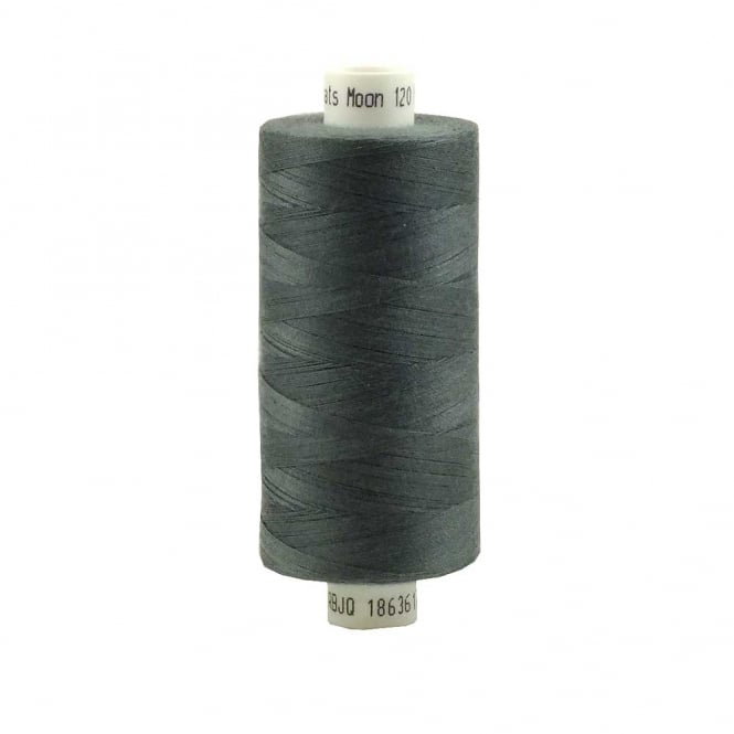 Coats Moon Spun Polyester Sewing Thread 1000 Yards - M112 - Slate Grey