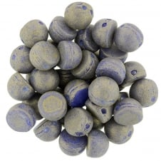 Czechmates Cabochon Beads 7mm - Pacifica Elderberry - 5g