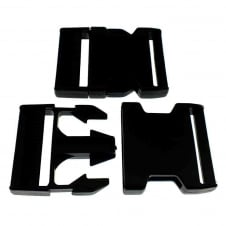 Delrin Side Release Plastic Buckle Clips 50mm - 1pk