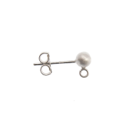 Sterling Silver Earwires & Studs