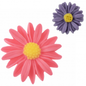 Sunflower Resin Cabochons (3 Sizes)