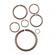 Antique Copper Plated Jump Rings