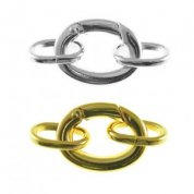 Large Oval Clasps