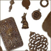 Vintaj Brass Beads, Findings & Charms