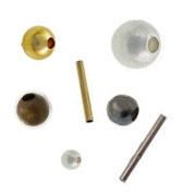 Plain Spacer Beads