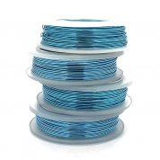 Craft Wire Non-Tarnish - Baby Blue