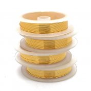 Craft Wire Non-Tarnish - Gold